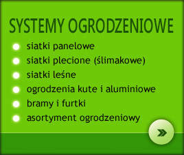 Systemy ogrodzeniowe